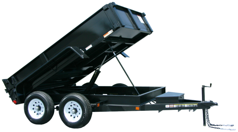 2019 CARRY-ON 6X10 DUMP TRAILER