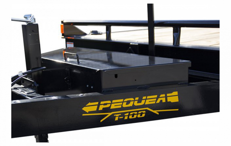 2019 Pequea T-100 FULL TILT Equipment Trailer (14K)