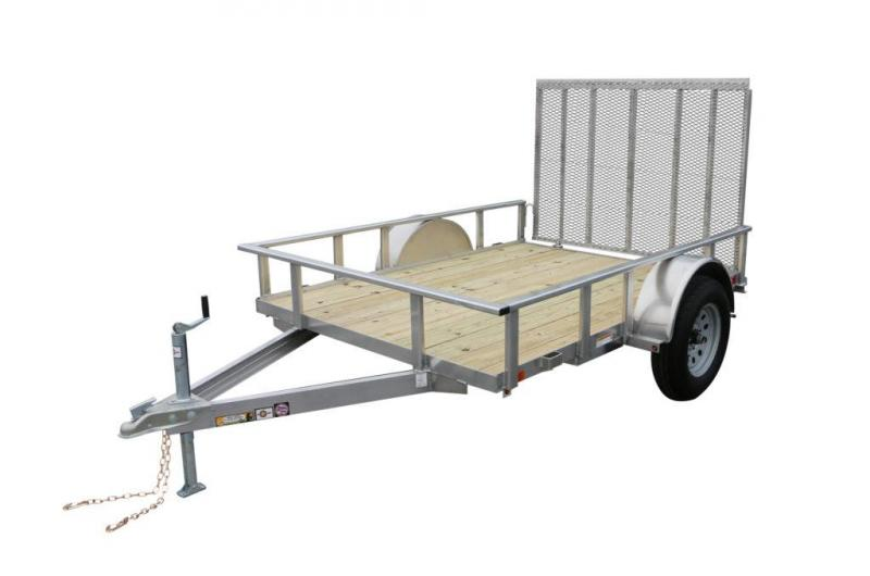 2017 CARRY-ON 6X8AGW UTILITY TRAILER Full Aluminum