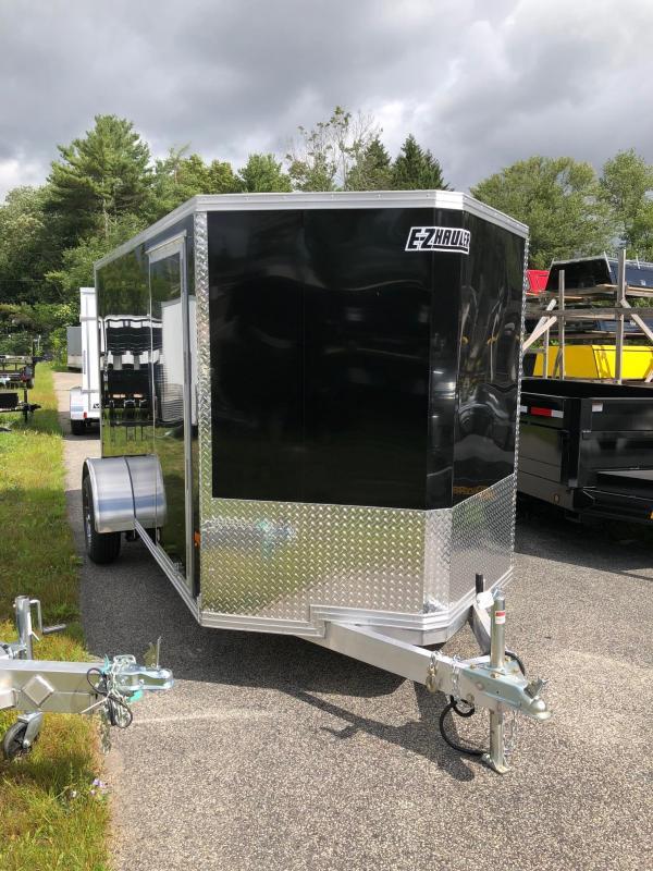 2018 EZ HAULER EZEC6X12 Enclosed Cargo Trailer w/ RAMP - BLACK