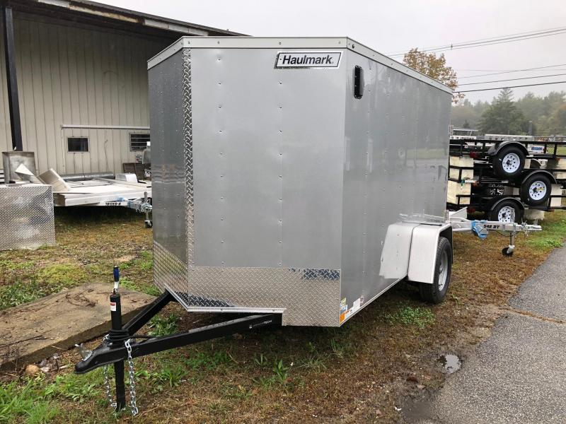 2019 Haulmark HMVG610S (3000 Trim Level) Enclosed Cargo Trailer w/ BARN DOORS - SILVER