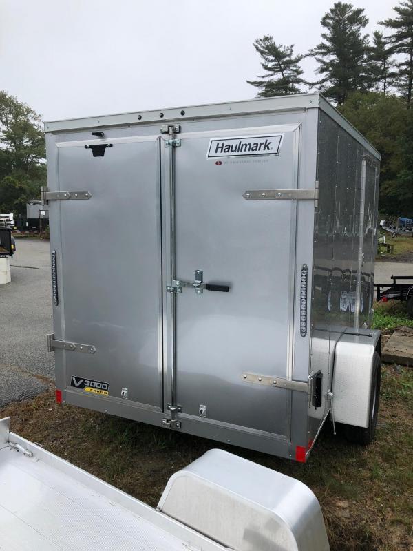 2019 Haulmark HMVG610S (3000 Trim Level) Enclosed Cargo Trailer w/ BARN DOORS - SILVER