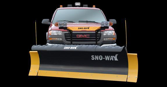 2018 Sno-Way 29HD 8' Snow Plow w/ Down Pressure