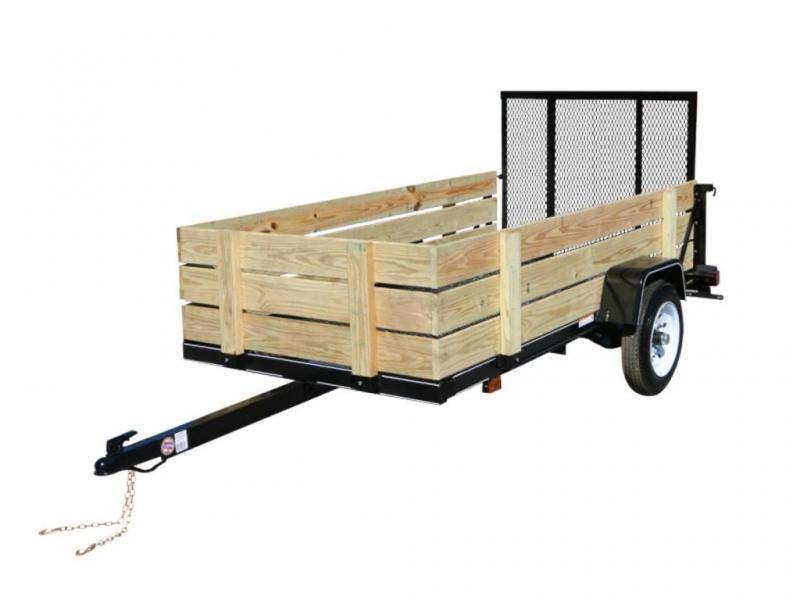 2018 Carry-On 5X8-WOODY Utility Trailer