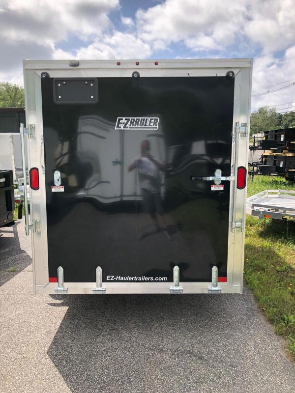 2019 EZ HAULER EZEC6X12 Enclosed Cargo Trailer w/ RAMP - BLACK