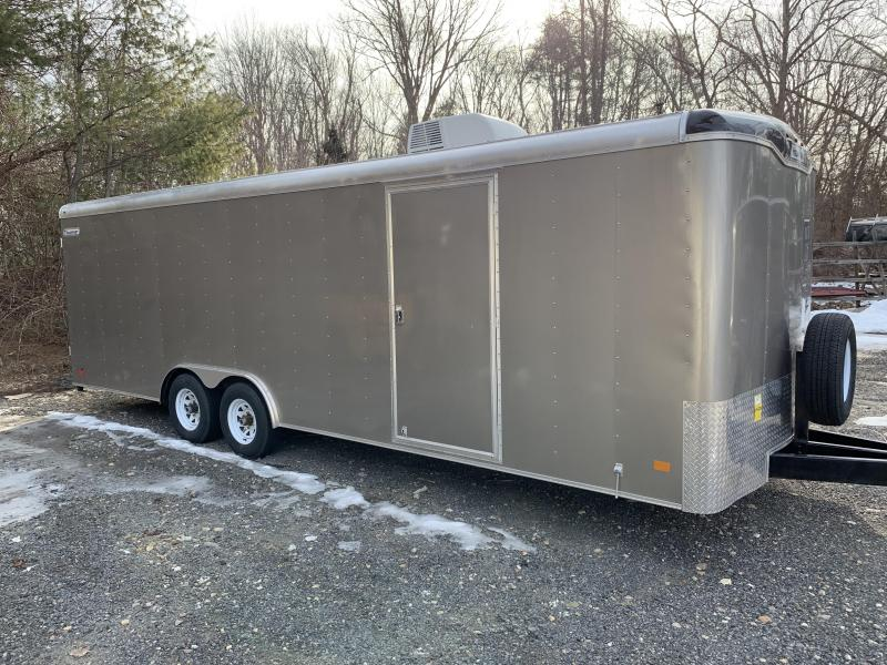 2019 Haulmark TST85X24WT3 8.5x24 Car / Racing Trailer w/ RAMP - PEWTER