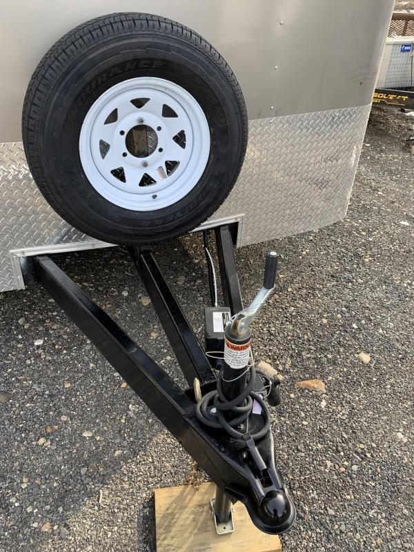 2019 Haulmark TST85X24WT3 8.5x24 Car / Racing Trailer w/ RAMP - PEWTER