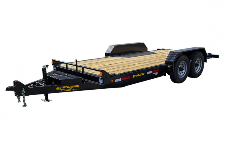 2019 Pequea T-100 FULL TILT Equipment Trailer