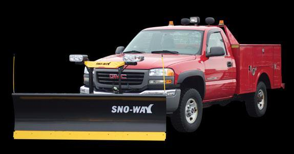 "2018 Sno-Way 29THD 7'6"" Snow Plow w/ Down Pressure"