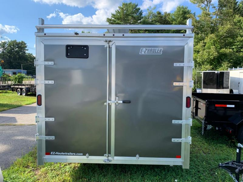 2019 EZ Hauler 8X16 Ultimate contractor pkg Enclosed Cargo Trailer w/Barn Doors - Charcoal