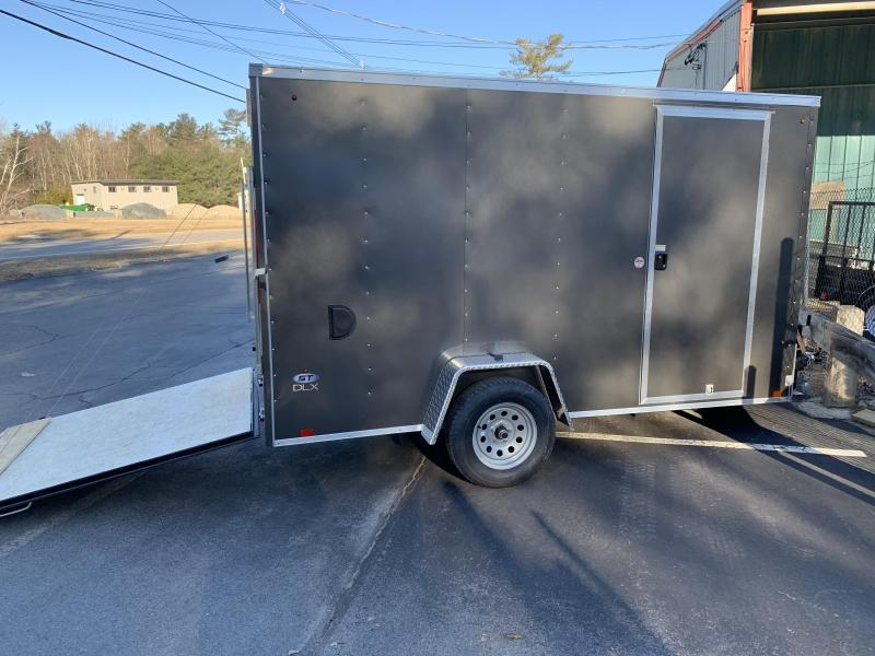 2020 Look Trailers St Cargo Deluxe 6x12 w/ RAMP - CHARCOAL