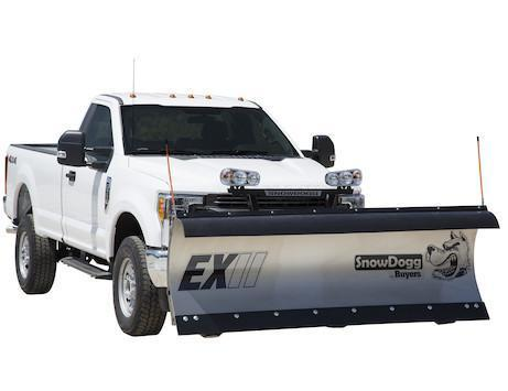 2018 SnowDogg EX90 II Stainless Snow Plow
