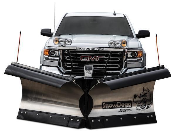 2018 SnowDogg VXF95 II Stainless Snow Plow
