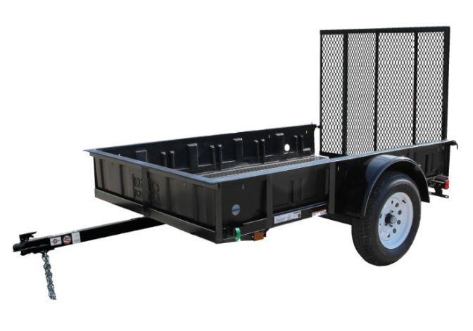 2015 CARRY-ON 5X8GBL UTILITY TRAILER