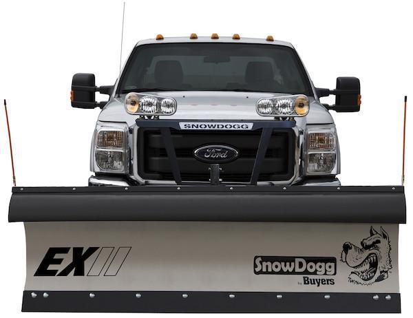 2018 SnowDogg EX80 II Stainless Snow Plow