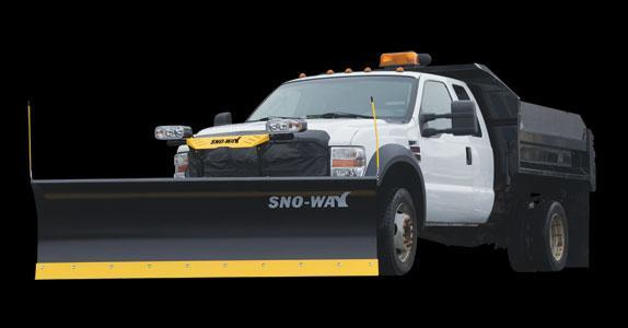 "2018 Sno-Way 32C 8'6"" Snow Plow w/ Down Pressure"