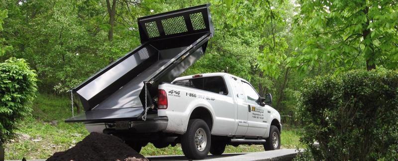 EZ Dumper Truck Bed Dump Insert 6.5' & 8'
