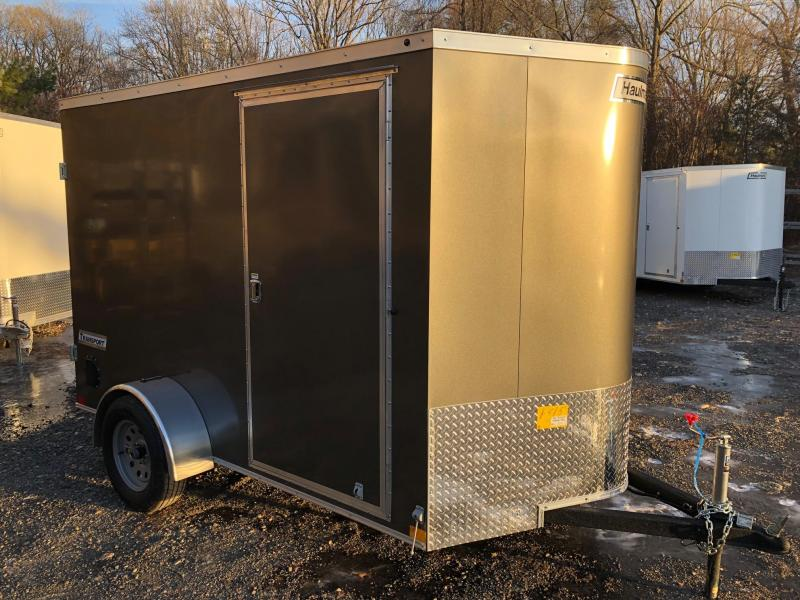 2019 Haulmark TSV6X10 Enclosed Cargo Trailer w/ BARN DOORS - CHARCOAL