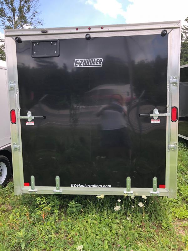 2018 EZ Hauler EZEC7X16 Enclosed Trailer w/ RAMP - BLACK