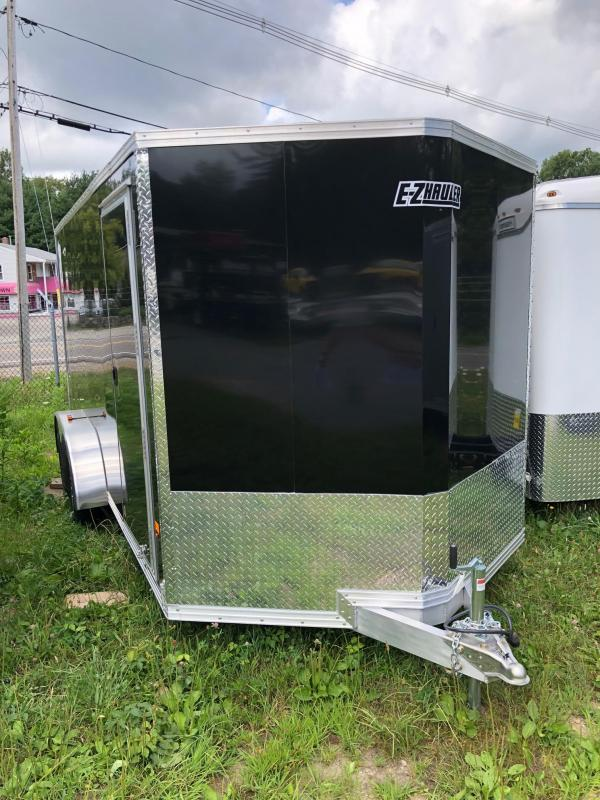 2018 EZ Hauler EZEC7X16 Enclosed Trailer w/ RAMP - BLACK