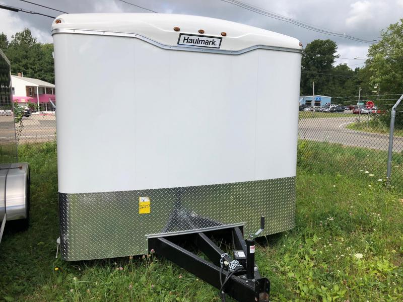 2018 Haulmark GR85X16WT3 Enclosed Cargo Trailer w/ RAMP - WHITE