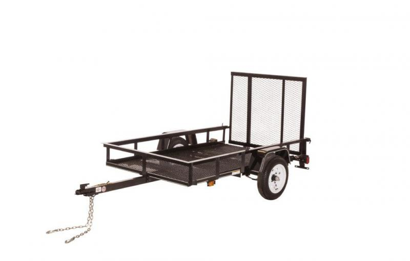 2017 CARRY-ON 4X8G UTILITY TRAILER
