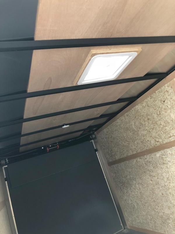 2018 Haulmark HMVG716T (5000 Trim Level) Enclosed Cargo Trailer w/ RAMP - BLACK