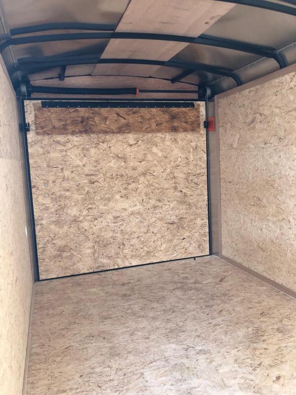 2018 Look Trailers Element Se Cargo Cargo / Enclosed Trailer w/ RAMP - WHITE