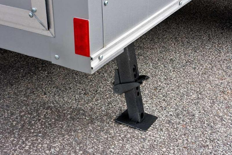 2018 Haulmark HMVG612 Enclosed Cargo Trailer w/ Barn Doors - White