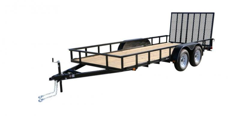 2019 Carry-On 7X18GW2BRK Utility Trailer