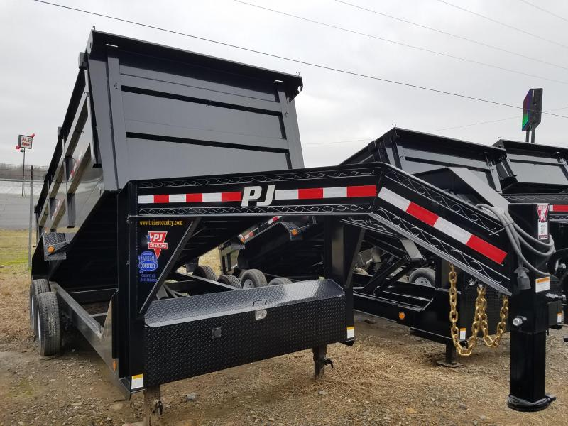 2018 PJ Trailers 83X16 XL HIGH SIDES Dump Trailer