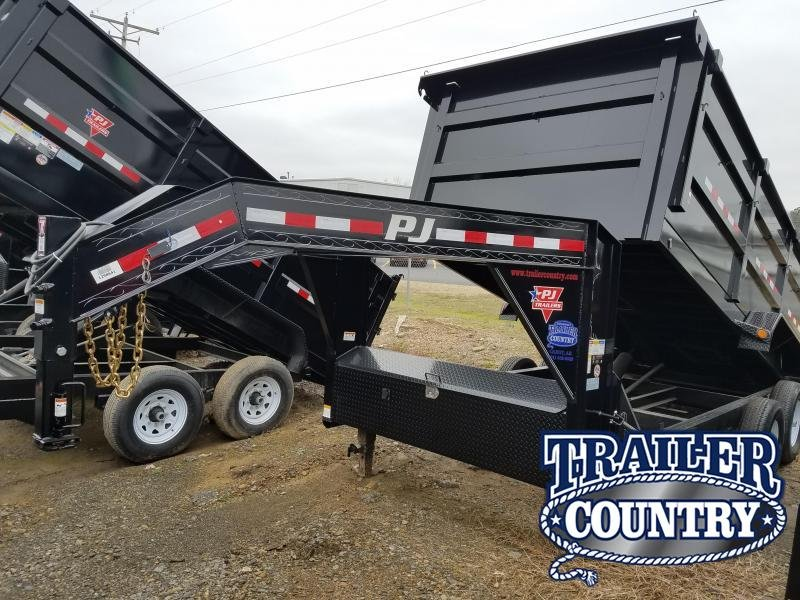 2018 PJ Trailers 83X16 XL HIGH SIDES Dump Trailer