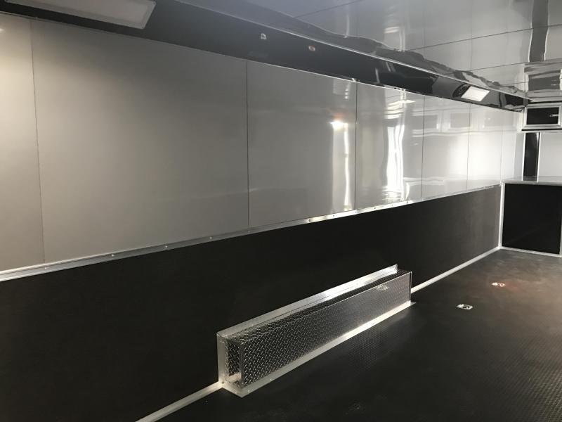 8.5x28 Spartan Enclosed Car / Race Trailer