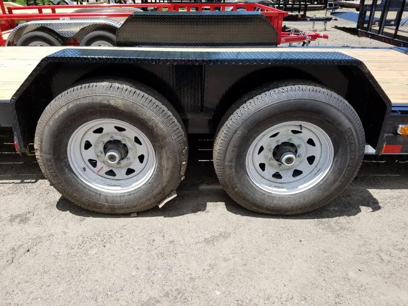 2018 PJ Trailers 83X24 HD TILT Equipment Trailer