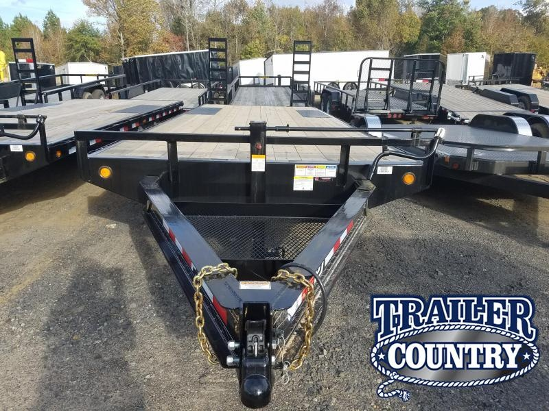 2019 PJ Trailers 96X25 DECKOVER Equipment Trailer in Lula, MS