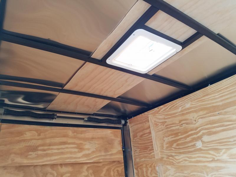 2019 Spartan 6X10SA Enclosed Cargo Trailer