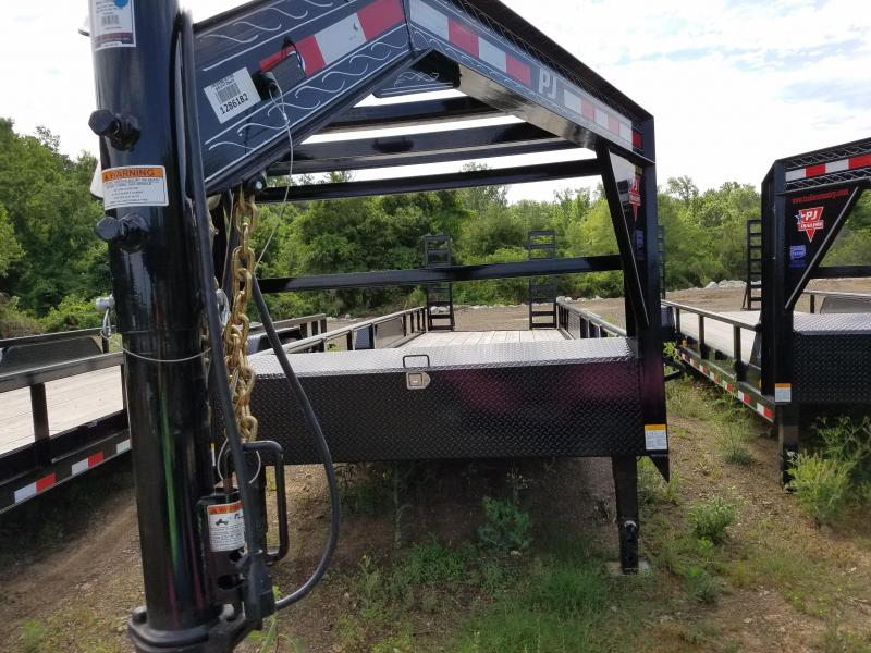 2018 PJ Trailers 83X24 ANGLE PIPETOP GN Equipment Trailer