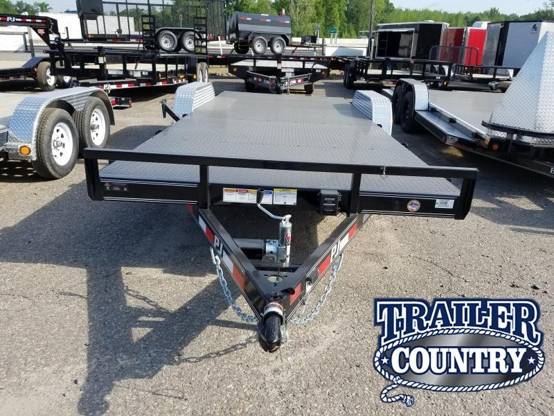 2020 PJ Trailers 20 FT CARHAULER Car / Racing Trailer