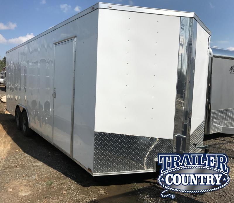 8.5x24 Enclosed Cargo  Trailer