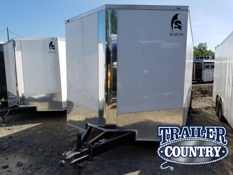 2018 Spartan 8.5X24 XXL Enclosed Cargo Trailer