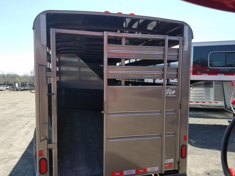 2018 Delta Manufacturing 500 COMBO 4H GN SLANT Horse Trailer
