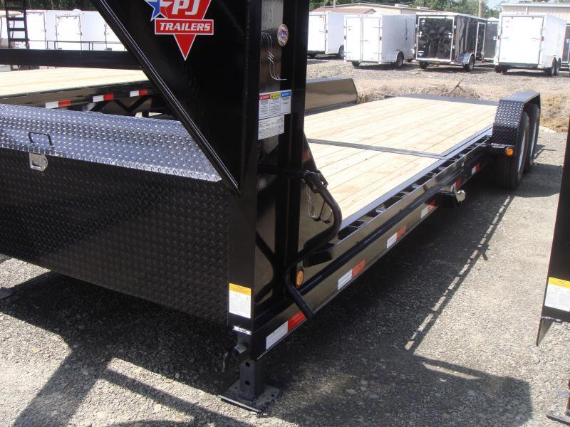 83X24 PJ Gooseneck Equipment Tilt Trailer in Ashburn, VA