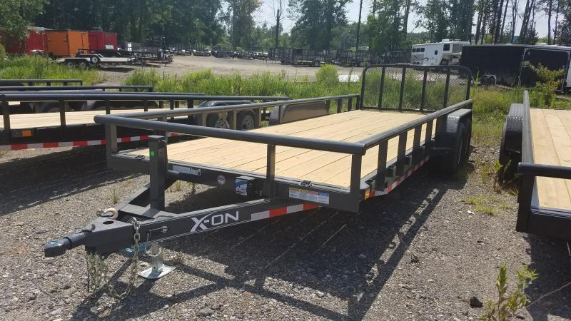 2019 X-On 83X22 Equipment Trailer