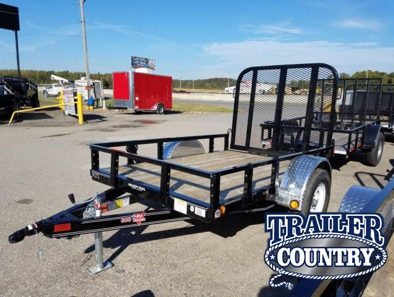 5x8 PJ Utility Trailer-Rear Gate
