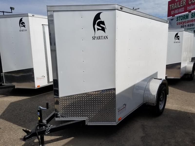 2019 Spartan 5X8SA Enclosed Cargo Trailer