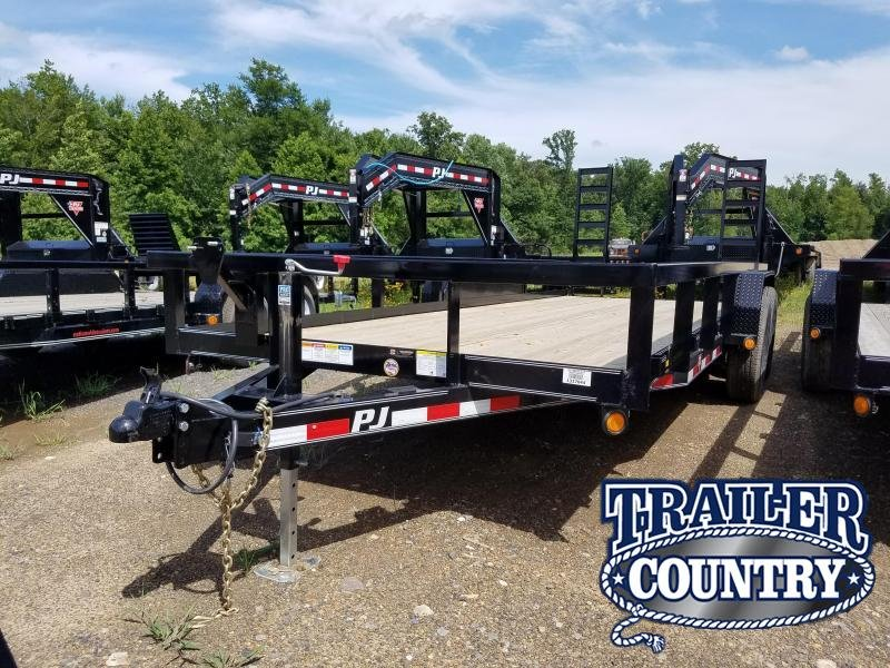 2020 PJ Trailers 20FT ANGLE PIPETOP Equipment Trailer in Prattsville, AR