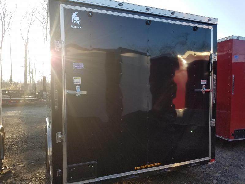 2019 Spartan 8.5X16 Enclosed Cargo Trailer