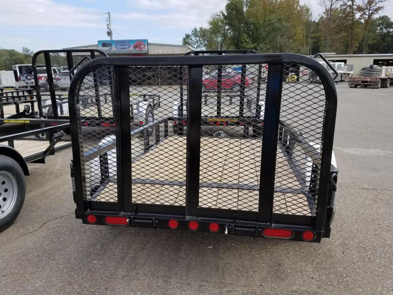 5x8 PJ Utility Trailer-2' Dovetail-3' Rear Gate