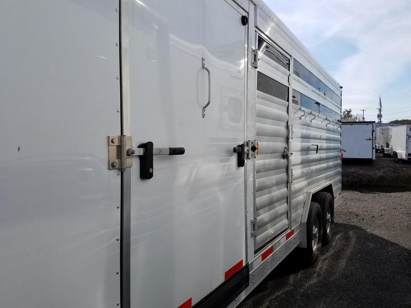 2014 Exiss Trailers STOCK/COMBO Livestock Trailer