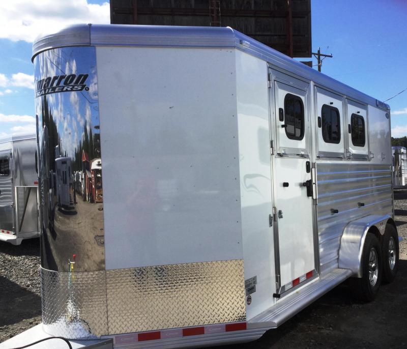 2018 Cimarron Trailers NORSTAR 3H BUMPER PULL Horse Trailer